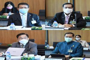 ร่วมประชุมคณะกรรมาธิการทรัพยากรธรรมชาติและสิ่งแวดล้อม วุฒิสภา ครั้งที่ 9/2564